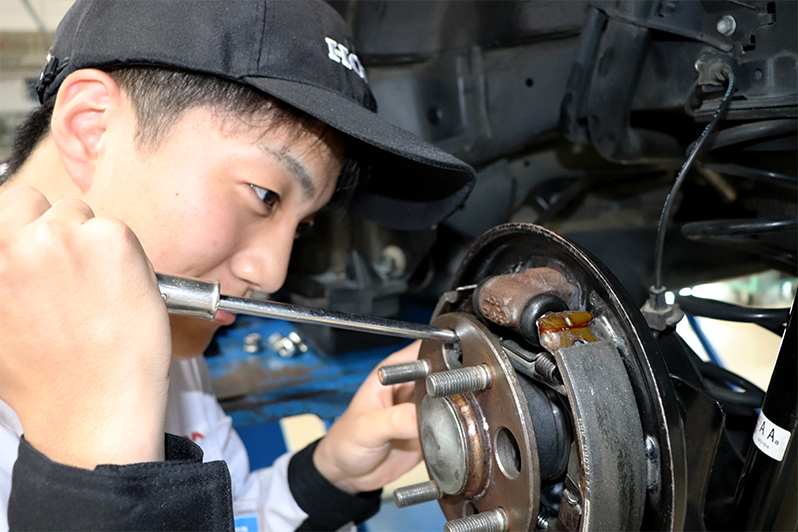一級自動車研究開発学科(自動車研究開発コース) 竹川 裕一郎